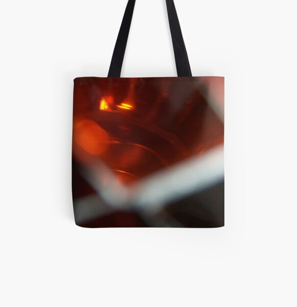Red Light All Over Print Tote Bag