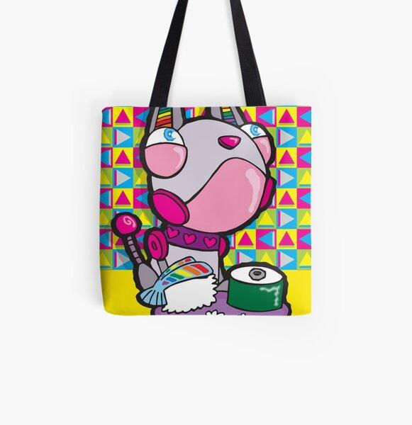 Robo Sushi All Over Print Tote Bag
