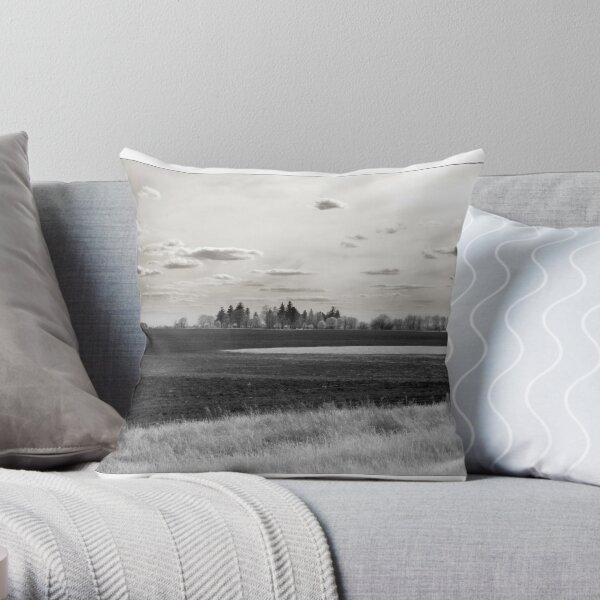 Farmland - Oswego, IL USA  Throw Pillow