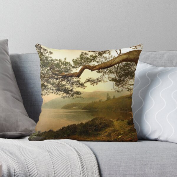 The Branch (Textured) Throw Pillow