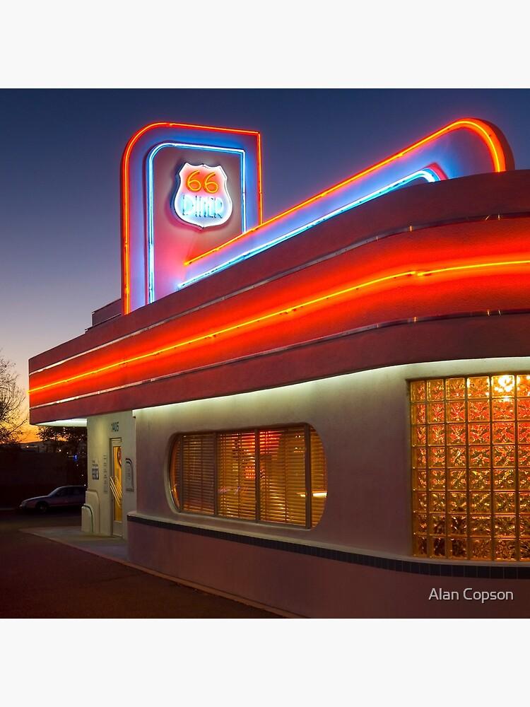 USA. New Mexico. Albuquerque. Route 66 Diner. (Alan Copson ©) by AlanCopson