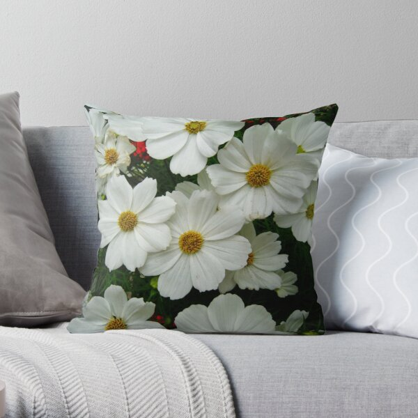 Picking Your Daisies Throw Pillow