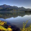 Lake at High Level by Daidalos