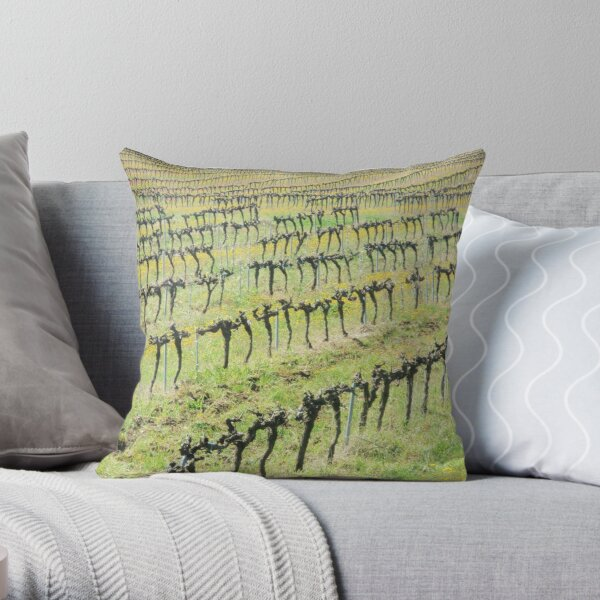 dancing skeletons in the spring: resurrection Throw Pillow
