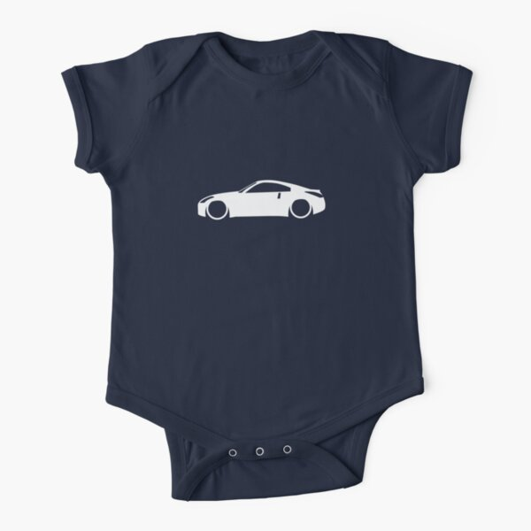 Z33 Fairlady Short Sleeve Baby One-Piece