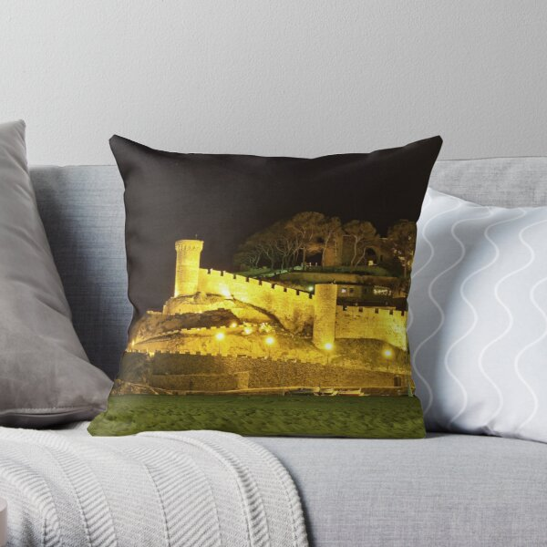Tossa de Mar - Spain Throw Pillow
