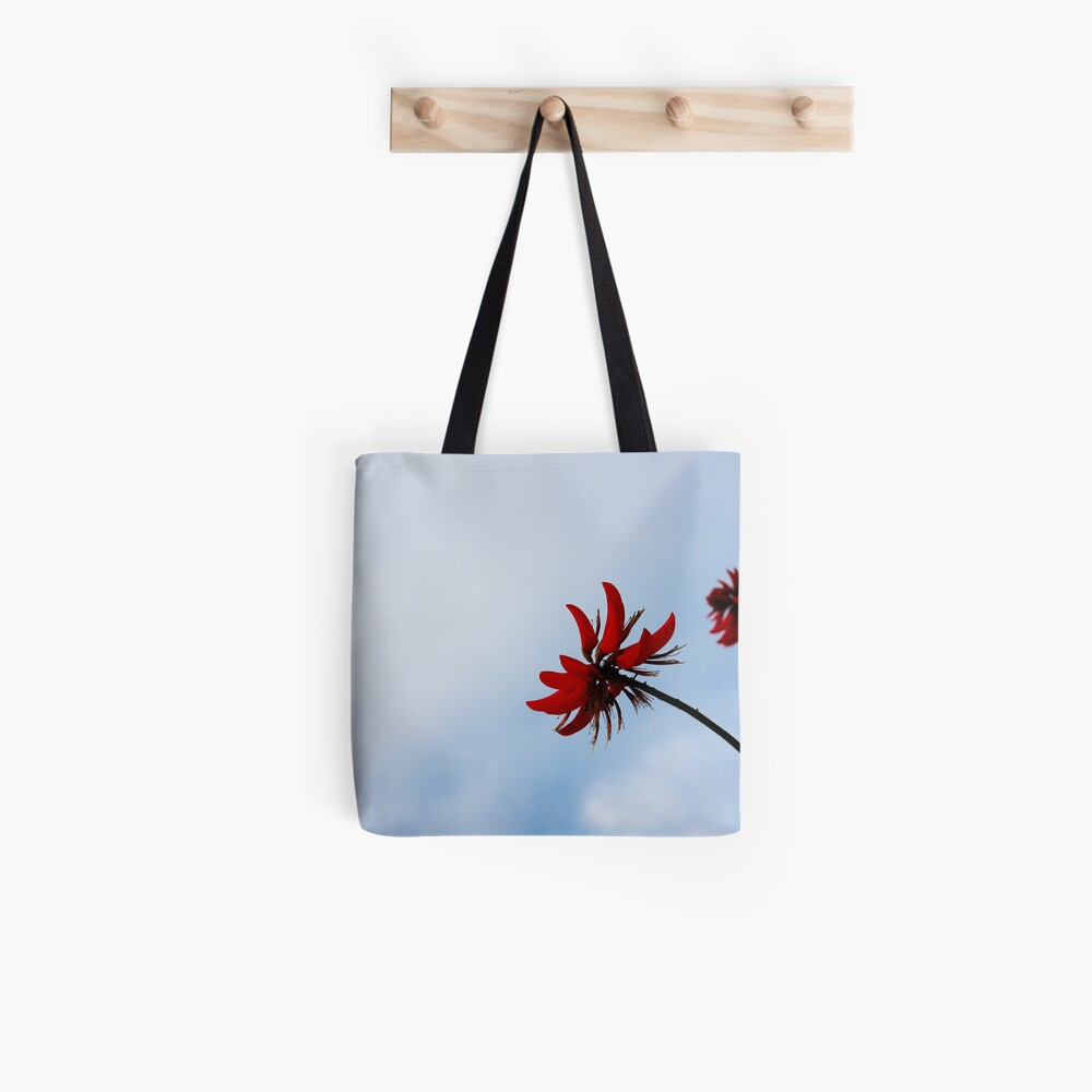 Red like fire Tote Bag