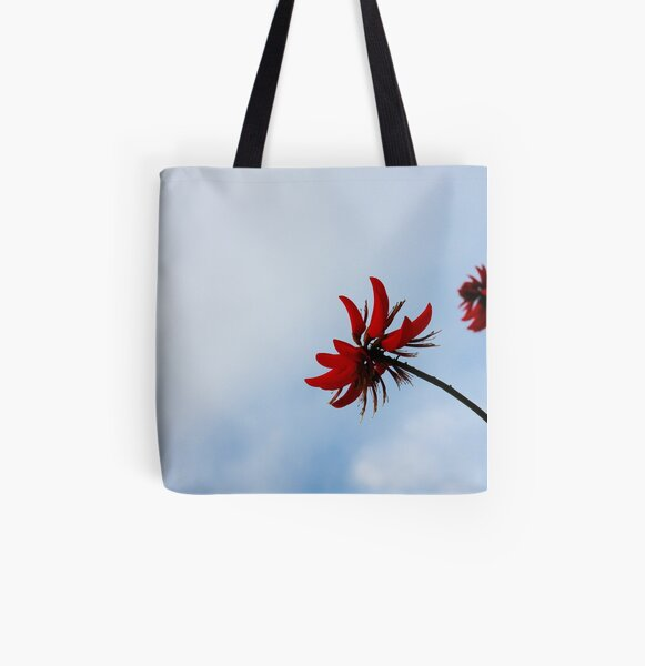 Red like fire All Over Print Tote Bag