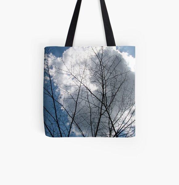 Cloud Tree All Over Print Tote Bag