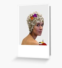 The Hanes Polyptych III Greeting Card