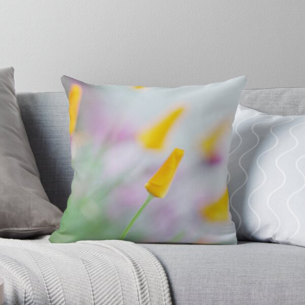 Springtime Wonder Throw Pillow