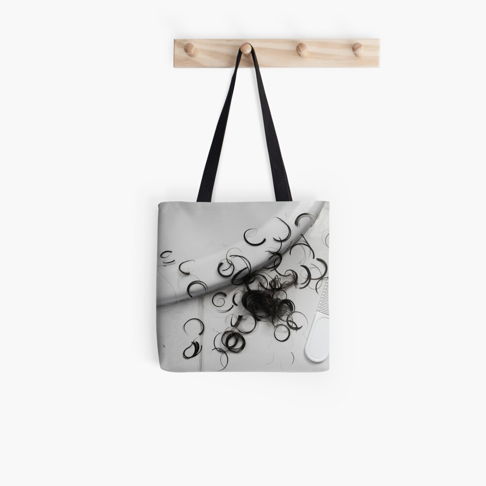 First Haircut Tote Bag