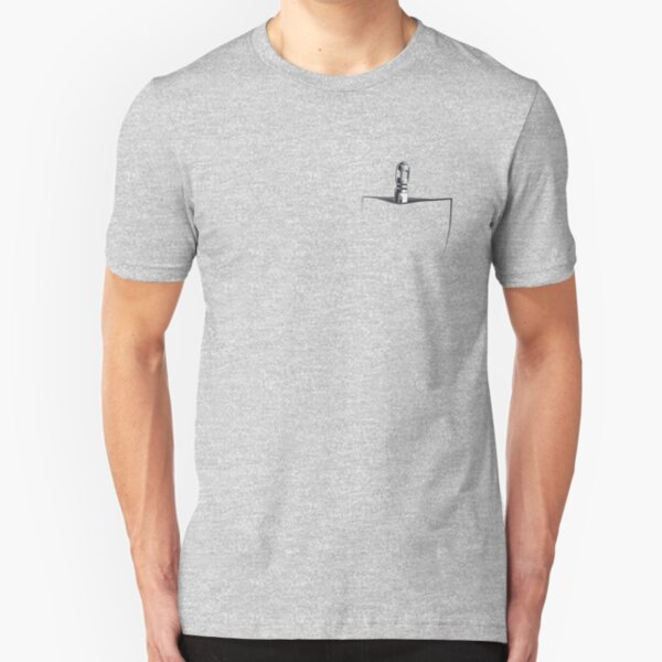 Is That A Sonic Screwdriver in Your Pocket... (10th Dr.) Slim Fit T-Shirt