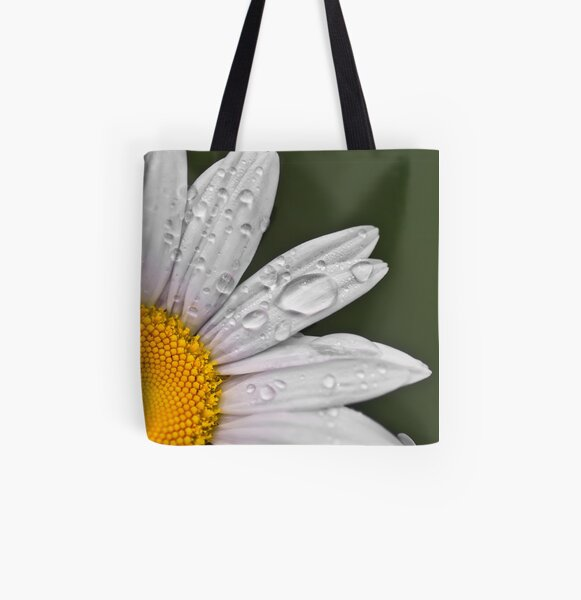 Daisy All Over Print Tote Bag