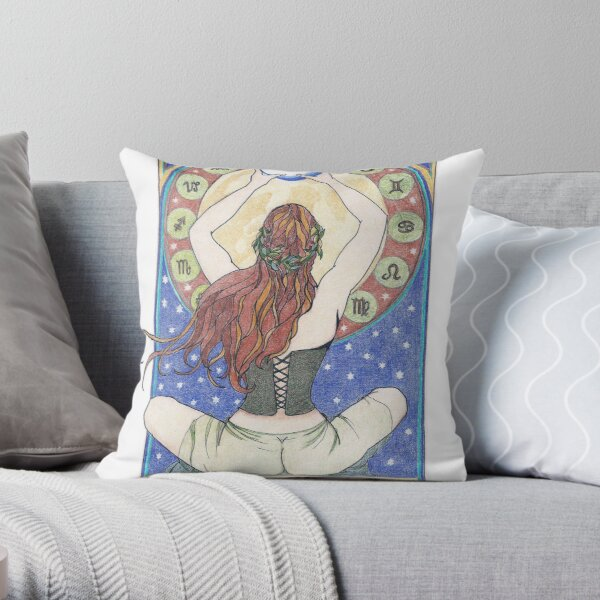 Woman Wisdom Throw Pillow