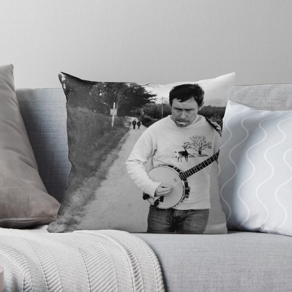 Tunin' Throw Pillow