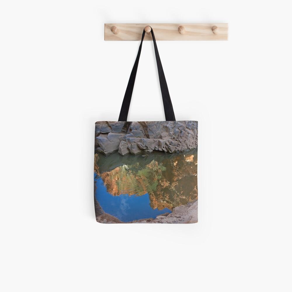 Ormiston Gorge Reflection Tote Bag