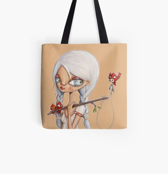 Early Bird All Over Print Tote Bag