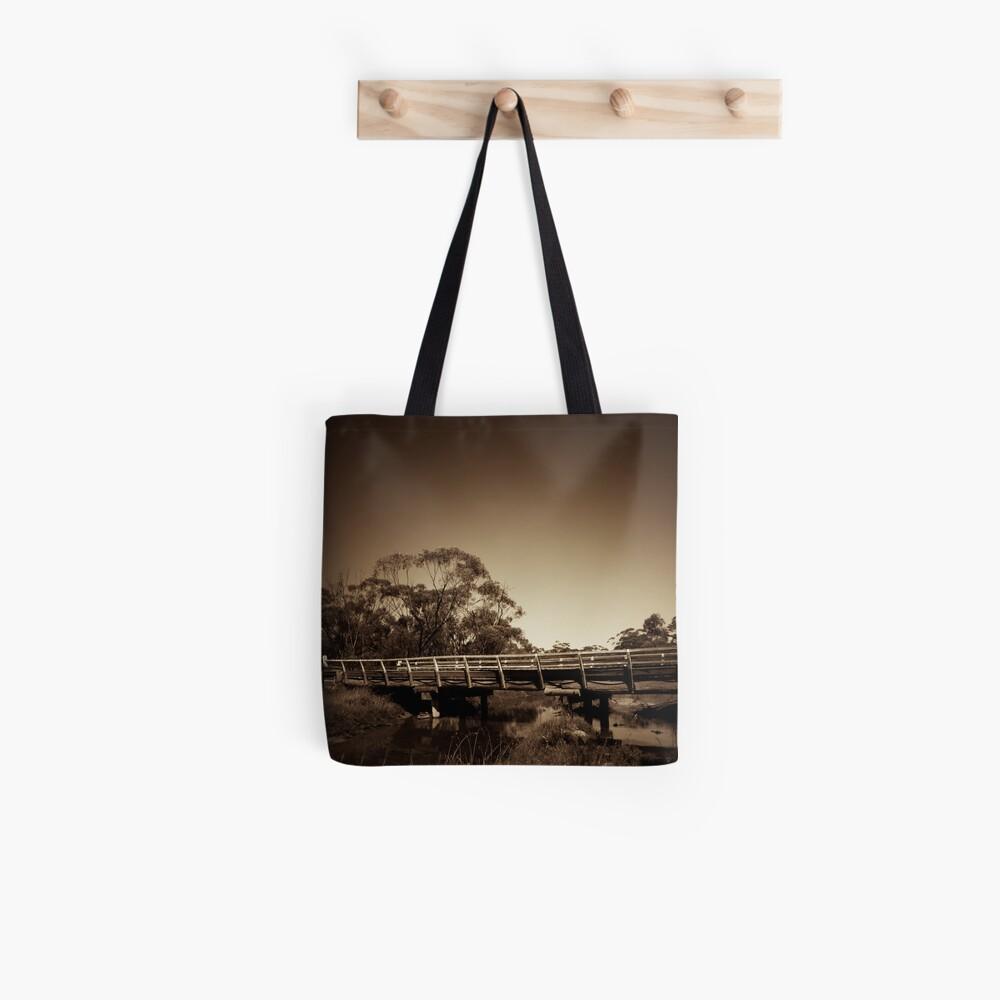 Old wooden bridge Tote Bag