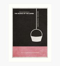 The Silence of the Lambs Art Print