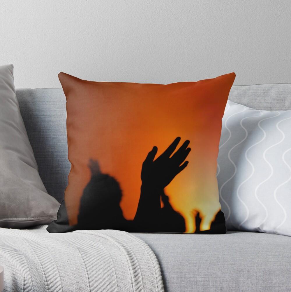 Worship Throw Pillow