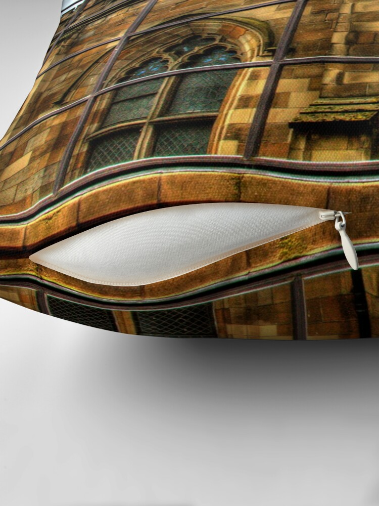 Alternate view of Reflections of Glasgow (2) Throw Pillow