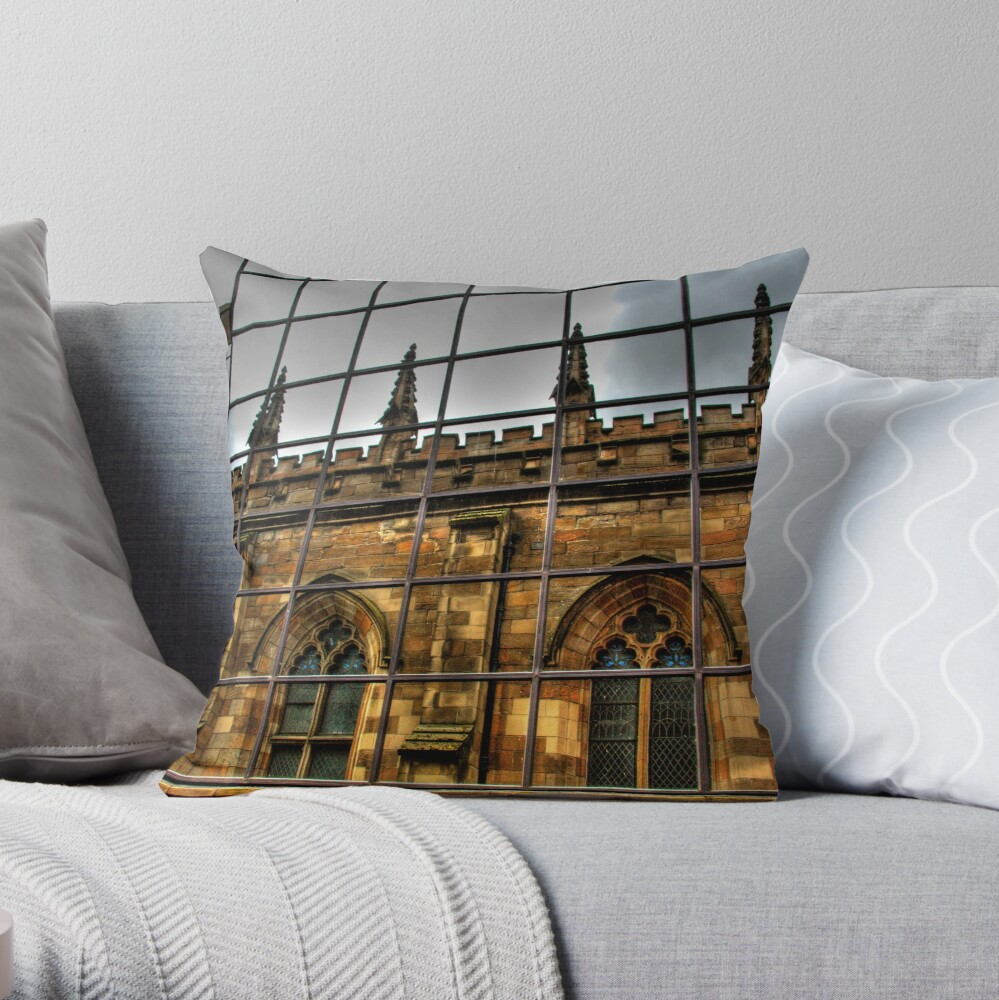 Reflections of Glasgow (2) Throw Pillow