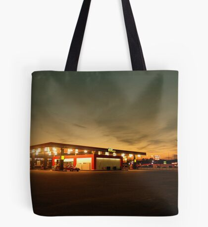 Alabama Filling Station Tote Bag