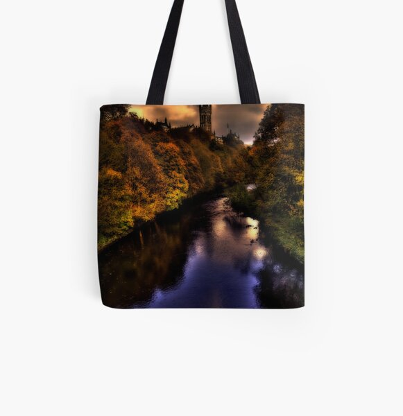 Autumn Evening All Over Print Tote Bag