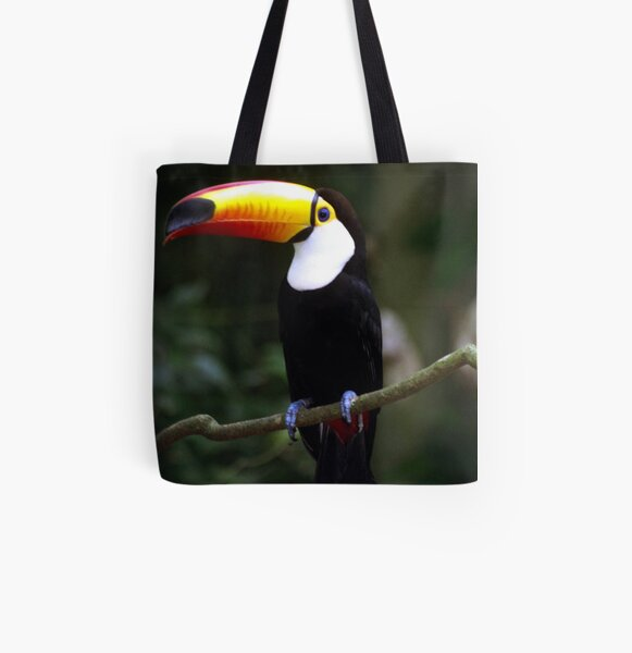 Toucan All Over Print Tote Bag
