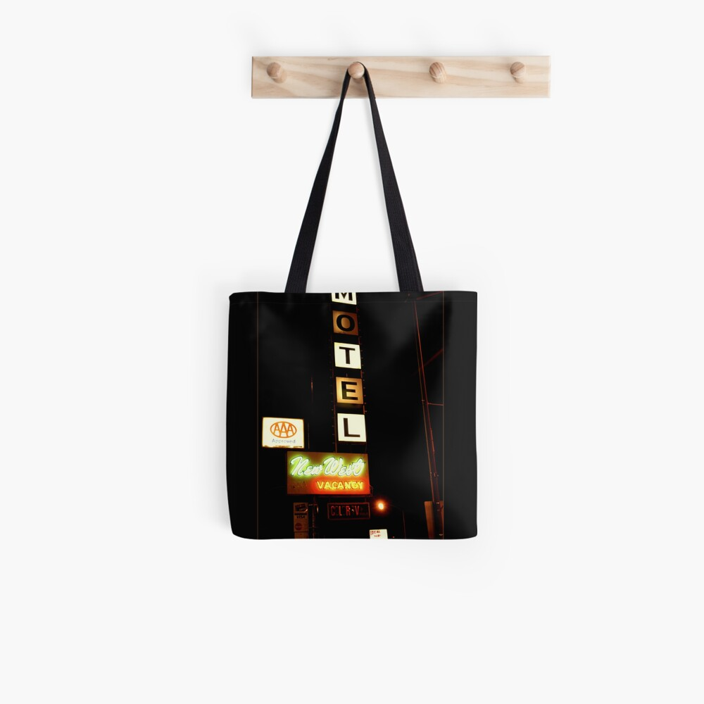 New West Motel Tote Bag