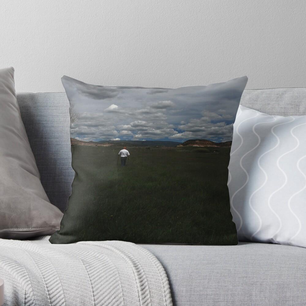 the irrigator Throw Pillow