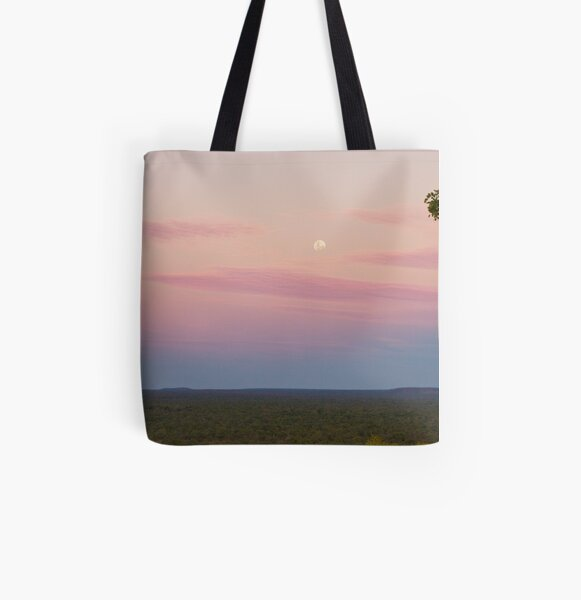 Undara Moonrise All Over Print Tote Bag
