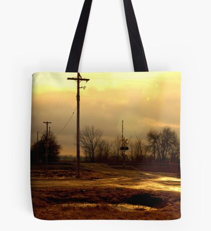 Litchfield, Illinois - Route 66 Tote Bag