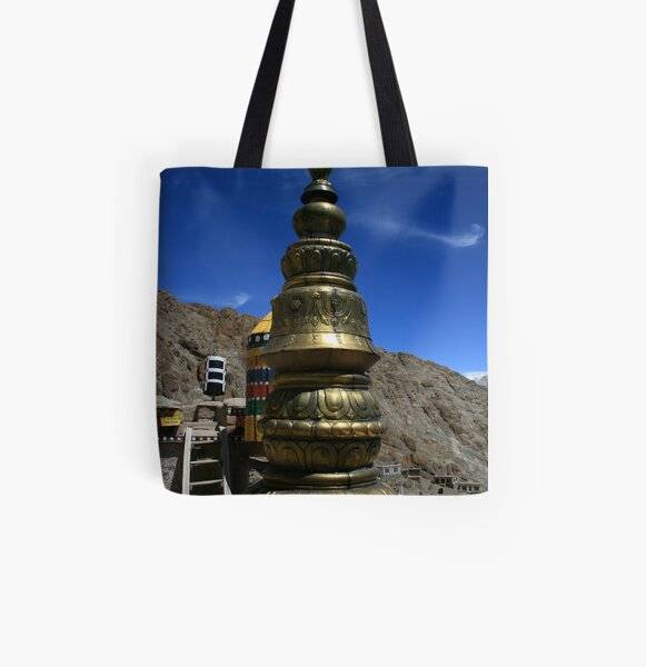 Hemis Gonpa - Ladakh All Over Print Tote Bag