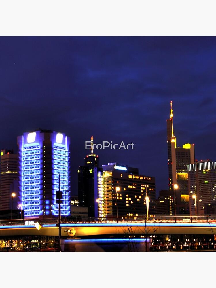 Frankfurt Skyline by EroPicArt