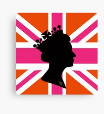 GOD SAVE THE QUEEN! Canvas Print