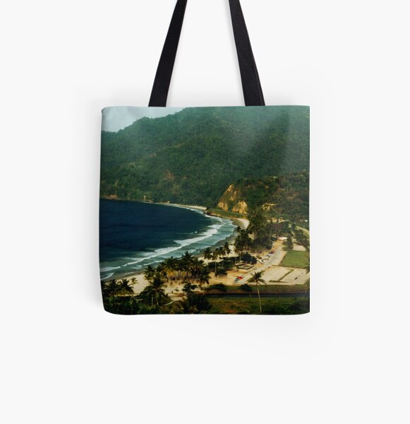 Maracas Bay All Over Print Tote Bag