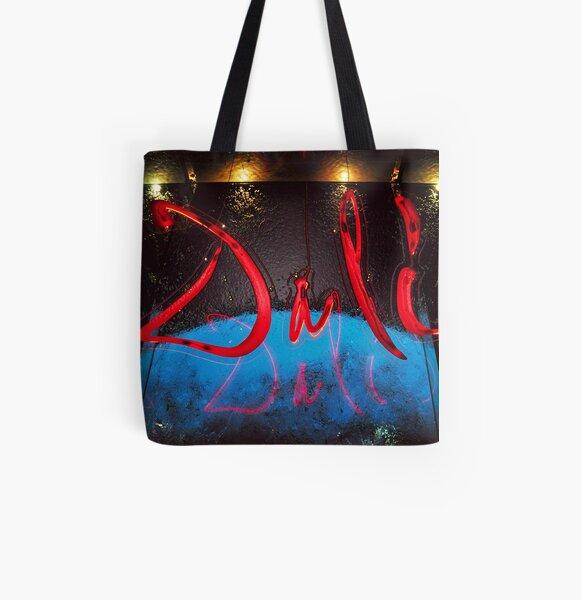 Dali All Over Print Tote Bag