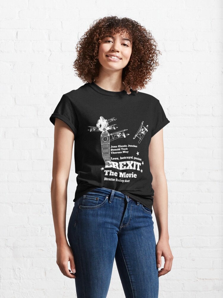 Alternate view of Funny Brexit tshirt - Fantastic Brexit UK - Funny English Shirt - Funny United Kingdom Shirt - Brexit t-shirt Classic T-Shirt