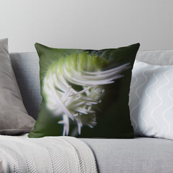 logical chaos (from wild flowers collection) Throw Pillow