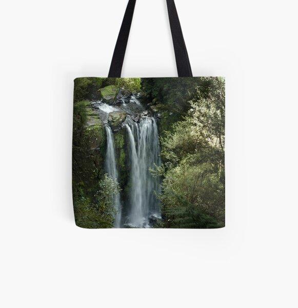 Hopetoun Falls, upper view ~ Otway National Park All Over Print Tote Bag