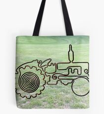 1954 Fordson Major Tractor Tote Bag