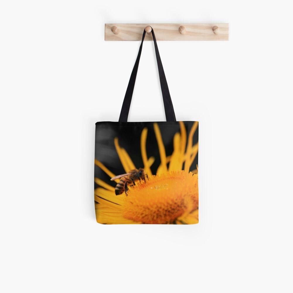 Flower Raider Tote Bag