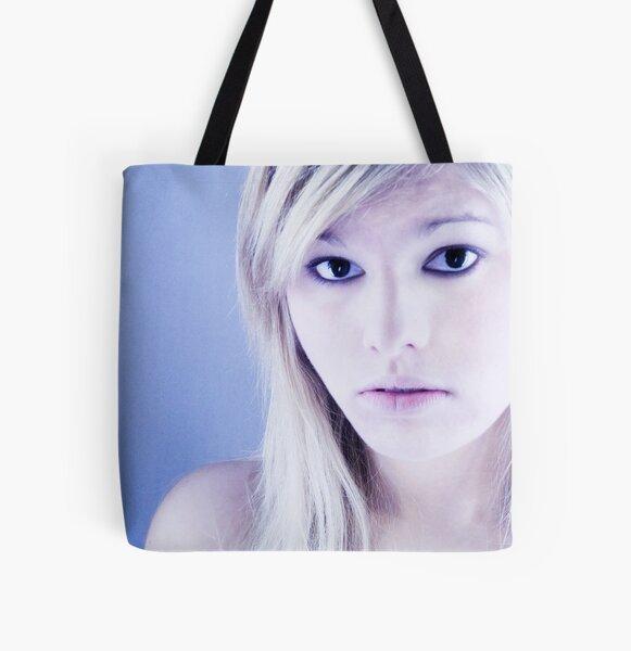 she All Over Print Tote Bag