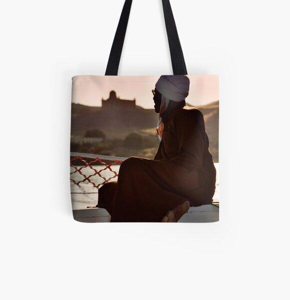 Nubian Man All Over Print Tote Bag