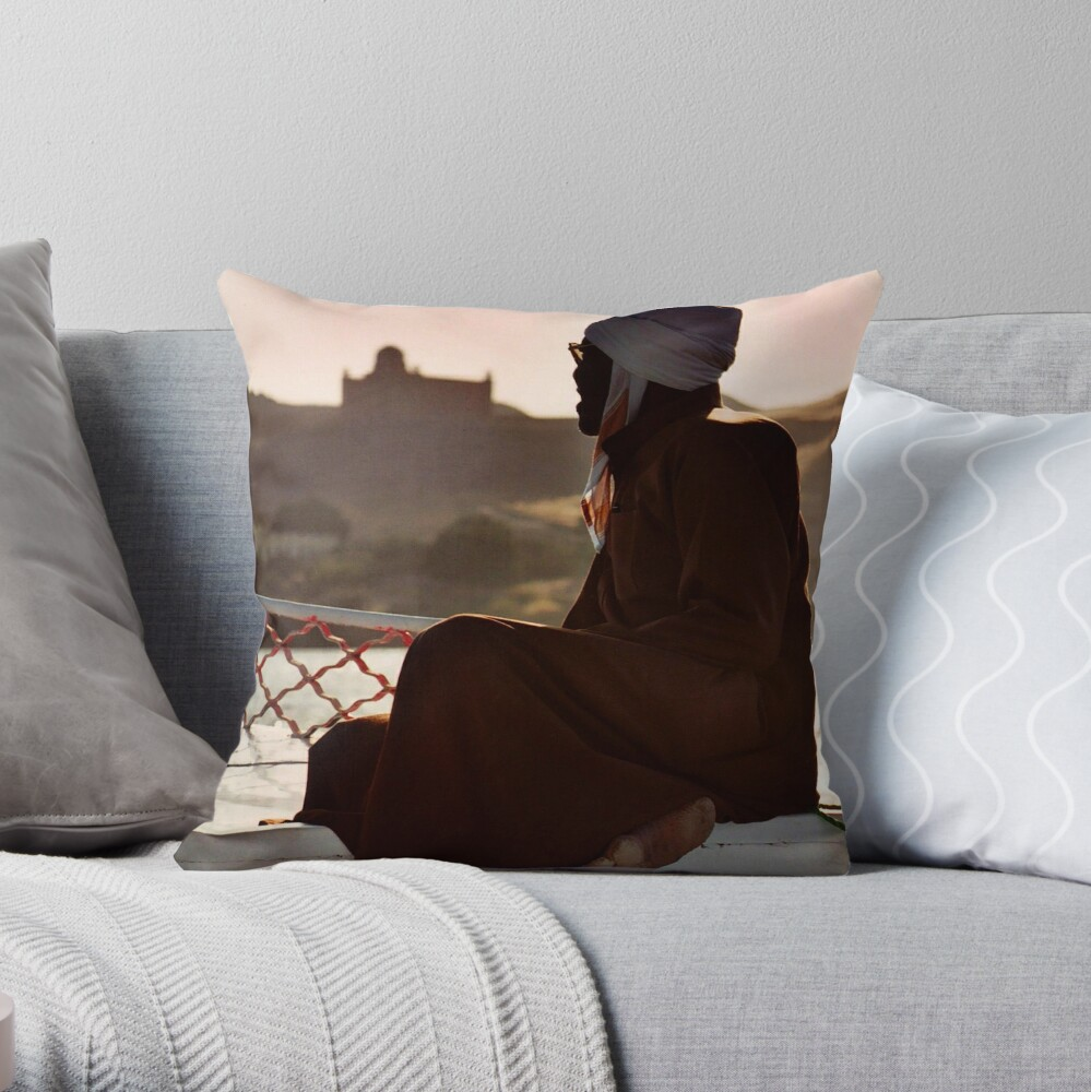 Nubian Man Throw Pillow