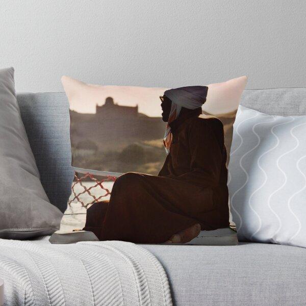 Nubian Man Throw Pillow