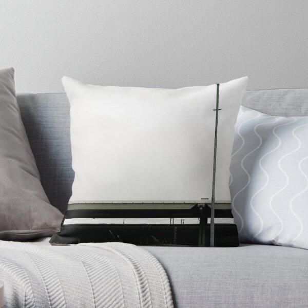 ramp and street lamp Throw Pillow