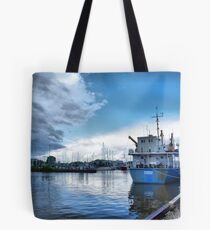 gimli harbour Tote Bag